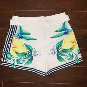 Forever 21 Shorts - Forever 21 x A. Peach Graphic Shorts 🍋